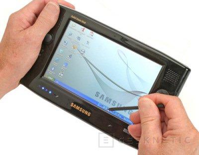 Samsung cambia el disco de su UMPC por memoria flash, Imagen 1