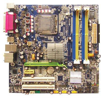 Foxconn presenta una nueva 965 con soporte Vpro, Imagen 1