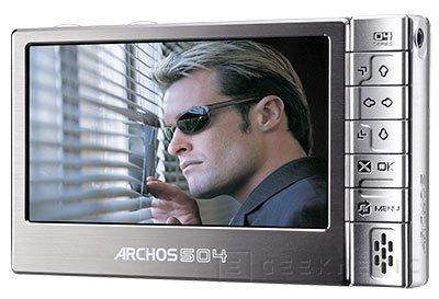 Archos presenta el mp3 de mas capacidad, Imagen 1