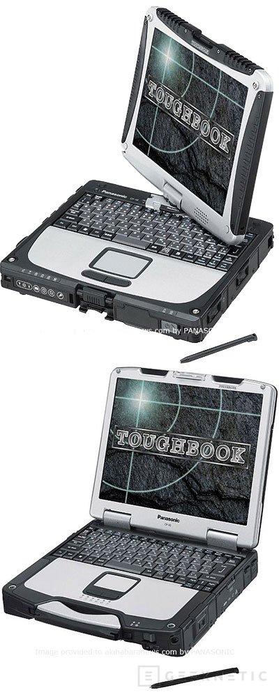 Panasonic renueva su gama Toughbook, Imagen 1