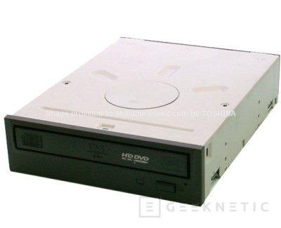Grabador de doble capa HD-DVD de Toshiba, Imagen 1