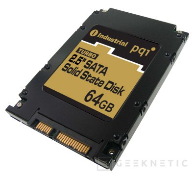 PQI presenta el primer SSD de 64GB SATA, Imagen 1