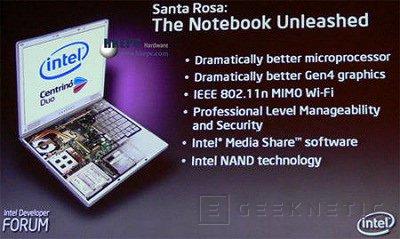 Intel prepara el Santa Rosa para Mayo, Imagen 1