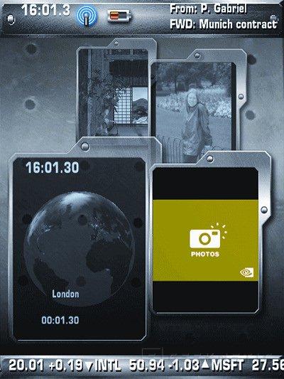 Nvidia muestra en el 3GSM su interfaz 3D para Handheld, Imagen 1