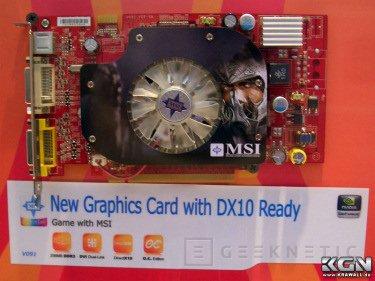CeBit 2007. Primeras imagenes de las 8600 de Nvidia, Imagen 1