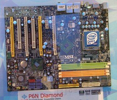 MSI parece tener lista la P6N Diamond con XFI integrada, Imagen 1