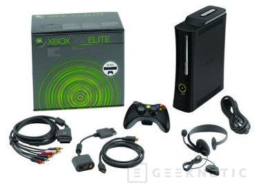 Microsoft presenta oficialmente la Xbox 360 Elite, Imagen 1