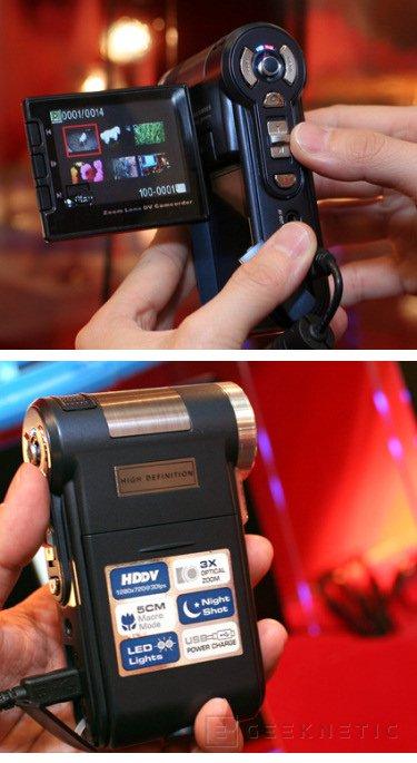 Computex. Aiptek presenta su nueva camara HD para memoria SDHC, Imagen 1