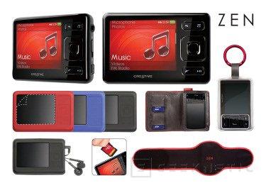 Creative presenta su nuevo Zen a pocos días del nuevo iPod, Imagen 1