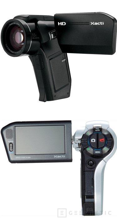 Sanyo presenta la cámara fullHD más compacta del mundo, Imagen 1