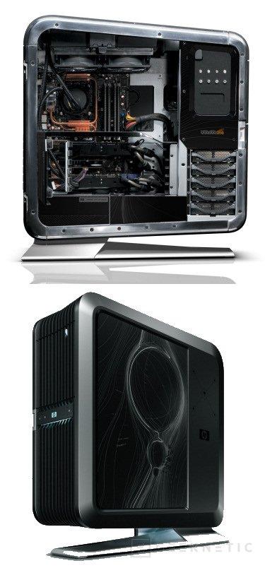 BlackBird 02 es el nombre del impresionante PC diseñado por HP y el equipo de VoodooPC, Imagen 1