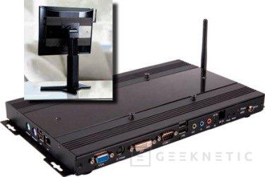 VIA prepara un PC para colgar del monitor, Imagen 1