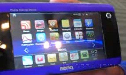 CES 2008: BenQ presenta su primer MID, Imagen 1
