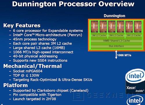 Intel prepara un Penryn de 6 núcleos, Imagen 1