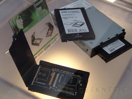 Cebit. Raidsonic presenta sus cajas SSD para memoria CF, Imagen 1