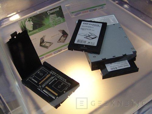 Cebit. Raidsonic presenta sus cajas SSD para memoria CF, Imagen 2