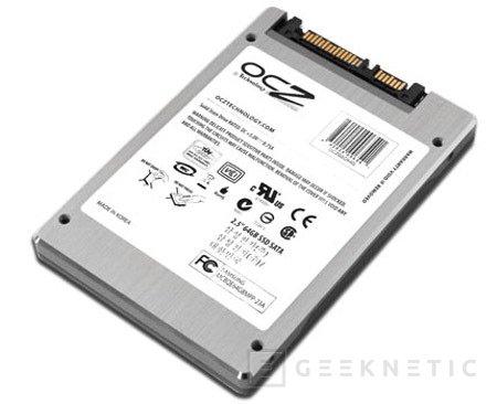 OCZ ha presentado sus nuevos SSD Drive SATA 2 de alta velocidad, Imagen 1