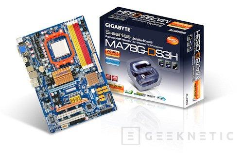 GIGABYTE nos presenta su última creación con el 780G de AMD, Imagen 1