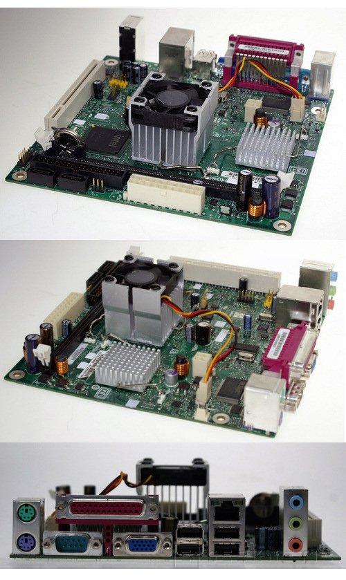 La primera placa ITX para Atom, Imagen 1
