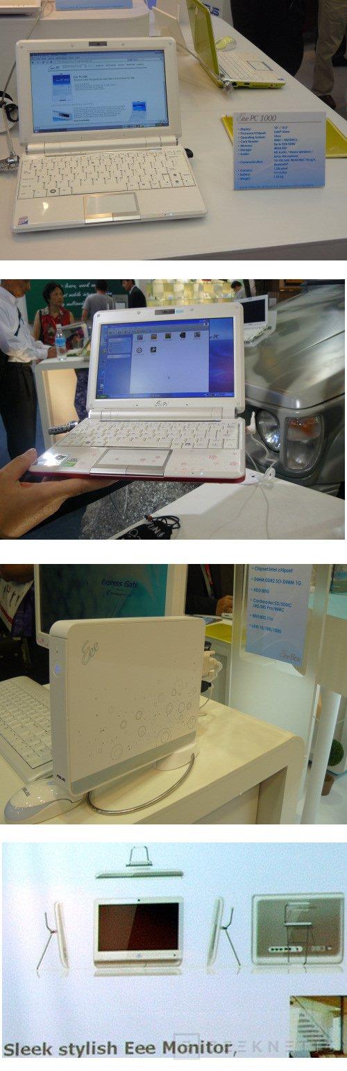 Computex 2008: ASUS se vuelca en su gama Eee, Imagen 1
