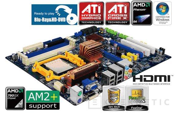 Foxconn presenta hoy su nueva AMD 790GX, Imagen 1