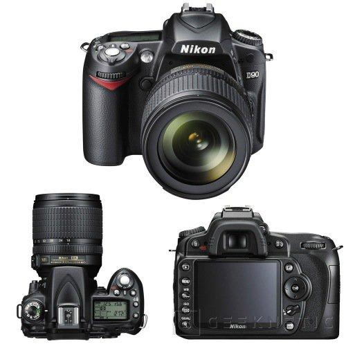 Nikon lanza la primera DSLR con captura de video HD, Imagen 1