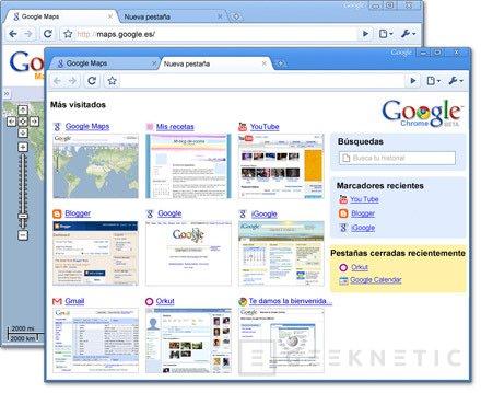 Chrome, el navegador de Google, Imagen 1