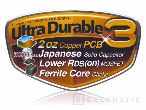 """Gigabyte introduce el """"ultradurable 3"""" en sus nuevas placas P45, Imagen 1"""