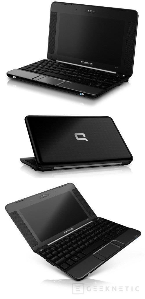 Nada de 1000, el nuevo netbook de HP se llama Compaq Mini 700, Imagen 1