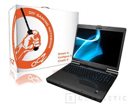 OCZ presenta el primer Notebook DIY Gaming con Crossfire, Imagen 1