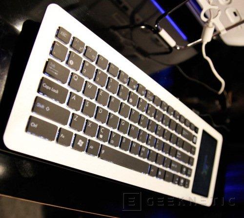 CES 2009: ASUS mete un PC completo en un teclado incluida una pantalla táctil, Imagen 1