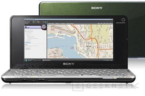 Sony aplica un impresionante punto de vista a lo que conocemos como Netbook, Imagen 2