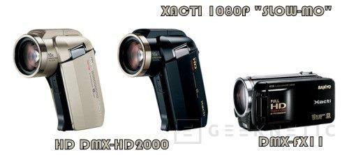 Sanyo amplia la gama Xacti estandarizando el video HD, Imagen 1