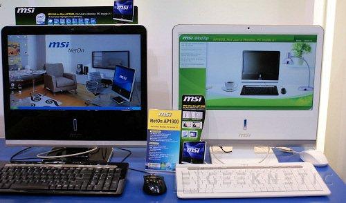 Cebit 2009: MSI introduce los nuevos NetOn AP1900, Imagen 1