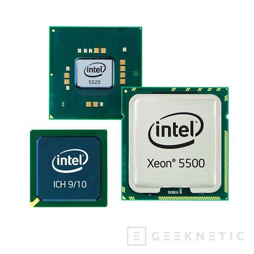 Intel presenta sus nuevos Xeon basados en Nehalem, Imagen 1