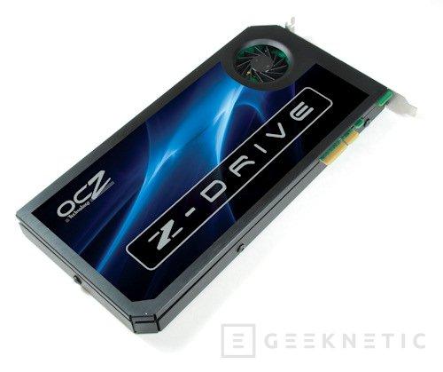 OCZ lanza su sistema Z-Drive. SSD y controladora todo en uno, Imagen 1