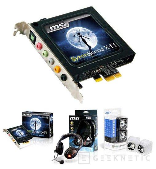 MSI introduce una nueva gama de productos de sonido, Imagen 1