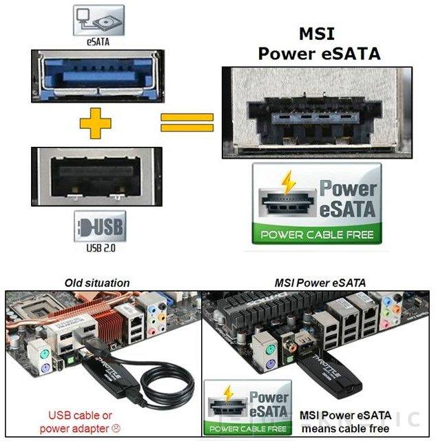 MSI y OCZ trabajando juntos por el Power eSata, Imagen 1
