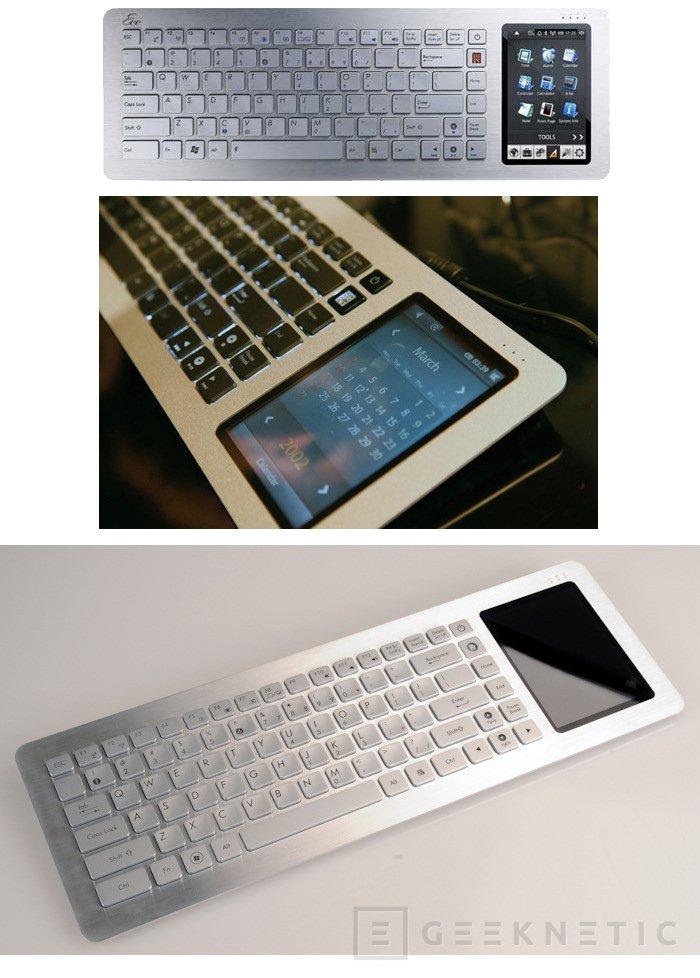 ASUS comercializará el Eee Keyboard a partir de Junio, Imagen 1