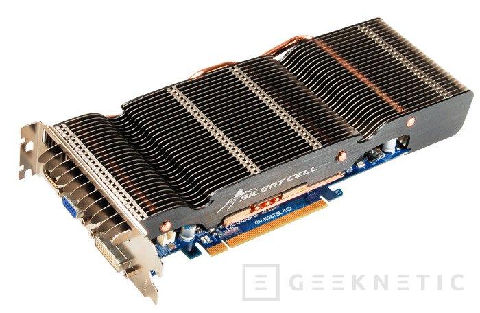 Gigabyte presenta su nueva 9800GT con SilentCell, Imagen 2