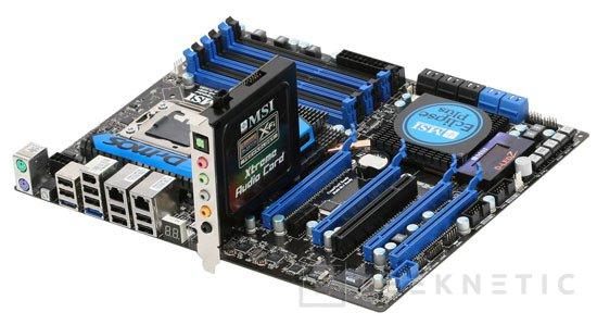 MSI ofrece soporte SLI en toda su gama X58, Imagen 1