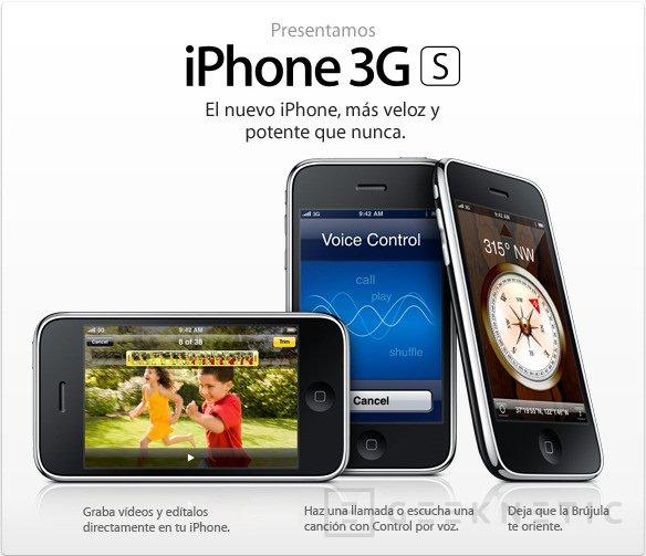 600Mhz y el doble de RAM. Los secretos del iPhone 3GS, Imagen 1