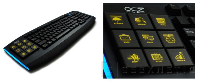 OCZ anuncia la disponibilidad de su teclado Sabre OLED, Imagen 1
