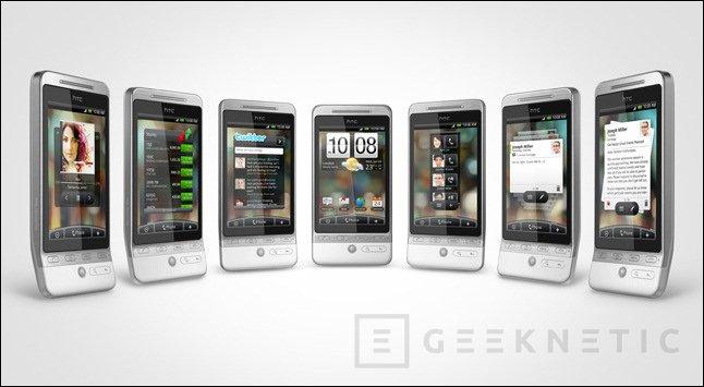 HTC presenta Hero. Lo último en teléfonos Android, Imagen 1