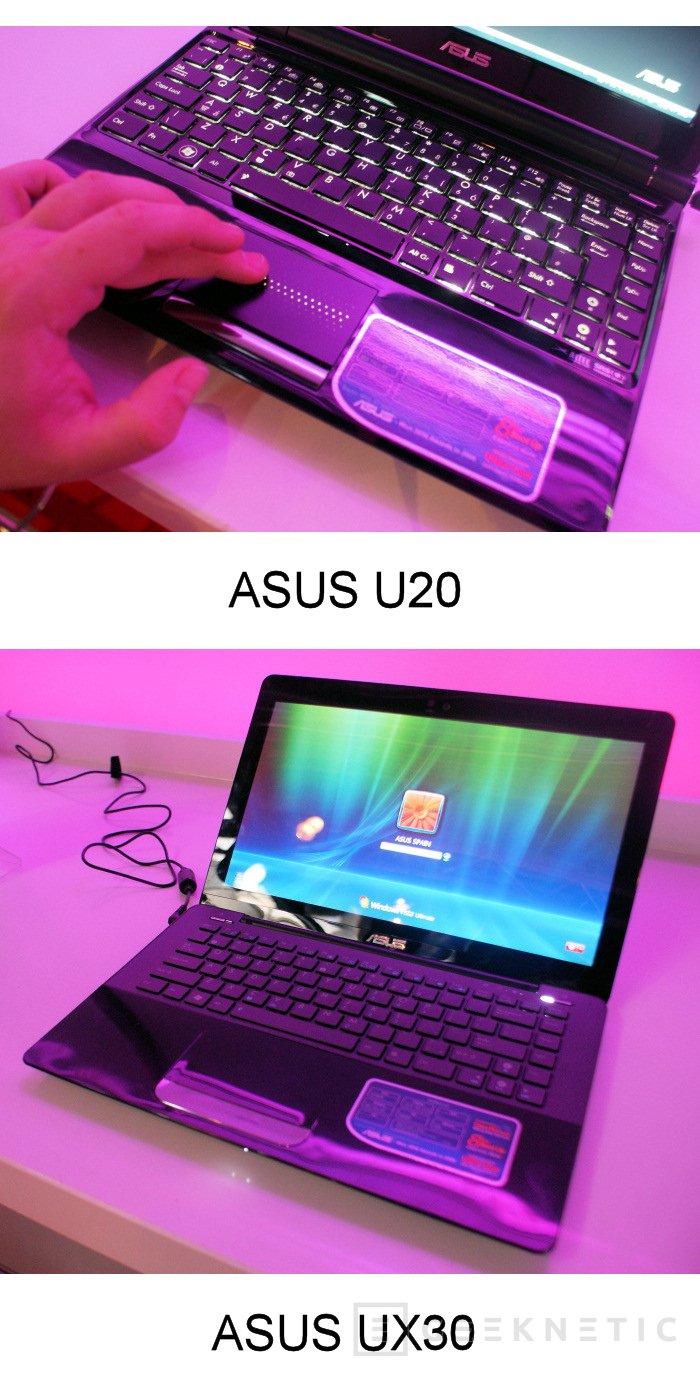 ASUS apuesta por la movilidad con sus nuevas gamas U y SeaShell, Imagen 3