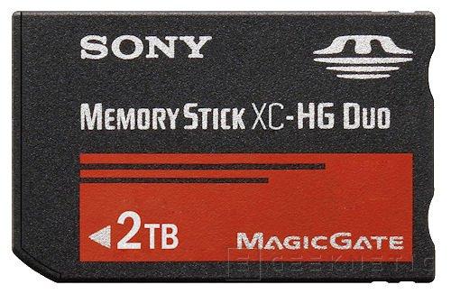 Sony prepara módulos Memory Stick de 2TB, Imagen 1