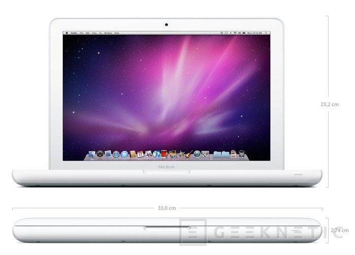 Apple actualiza el Macbook de policarbonato, Imagen 1