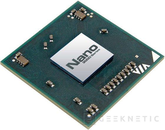 VIA presenta nueva generación 3000 de procesadores Nano, Imagen 1