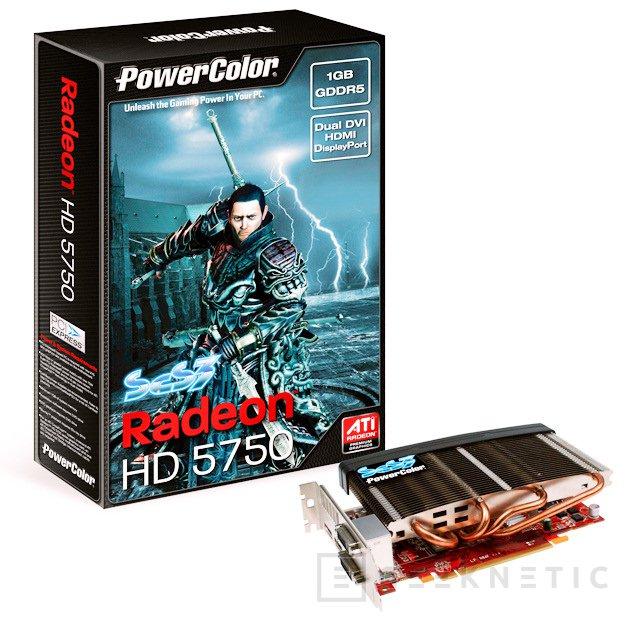 Powercolor lanza una Radeon 5750 pasiva, Imagen 1