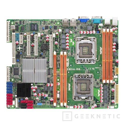 Ocho núcleos reales en formato ATX: ASUS Z8NA-D6, Imagen 1